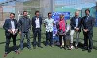 Emilio del Río ha presentado el VIII Torneo de fútbol base Comillas-Loyola