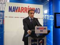 Esparza afirma que UPN no votará a favor de que haya en Navarra presidenta nacionalista