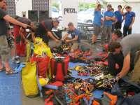 Bomberos de Málaga participan en Bélgica en una competición para demostrar sus habilidades de rescate