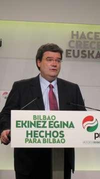 Aburto se reunirá el próximo lunes con Bildu, PSE-EE y PP para lograr un gobierno