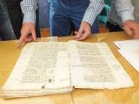 Cultura.- Recuperan diez legajos del siglo XVI de los Reyes Católicos sobre los privilegios a Guadix