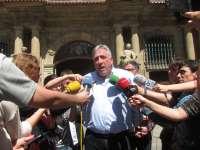 Joseba Asiron se ve como alcalde tras los primeros contactos y aboga por un Gobierno municipal de coalición
