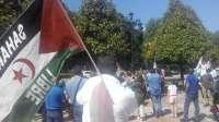Concentración en Oviedo en solidaridad con Takbar Haddi