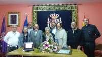 Guarinos asiste a la celebración del 100 cumpleaños de Restituta Ricote, vecina de Campisábalos (Guadalajara)