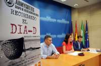 La exposición 'Recordando el Día-D' conmemora el 71 aniversario del Desembarco de Normandía