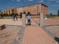 El Ayuntamiento de Logroño renueva el jardín experimental del parque del Cubo