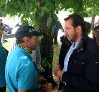 Puente se compromete a hacer todo lo que esté en su mano para que Valladolid acoja la concentración Pingüinos 2016