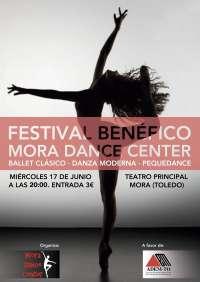 Mora (Toledo) acogerá el 17 de junio el Festival Benéfico Dance Center en beneficio de ADEMTO