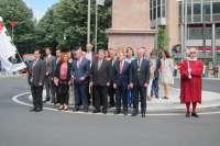 Bilbao celebra su 715 aniversario con una ofrenda a López de Haro y la ausencia de EH Bildu, Udalberri y Ganemos