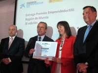 Empresa Abiopep, ganadora de 9ª edición de 'EmprendedorXXI', reivindica el sector agroalimentario en sureste español