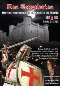 El Castillo de Torija (Guadalajara) ofrecerá visitas teatralizadas nocturnas ambientadas en la época medieval