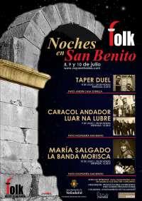 La Hospedería de San Benito de Valladolid abre el 8 de julio festival folk de nueva creación
