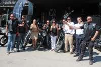 Los 'sin Riders' llegan a Extremadura con sus motos para concienciar sobre la incompatibilidad de alcohol y conducción