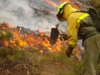 Alerta de incremento de riesgo meteorológico de incendios forestales para el miércoles en toda la Comunidad