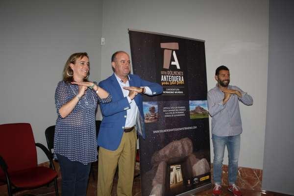 Cultura.- Antequera inicia la campaña promocional de los Dólmenes como Patrimonio Mundial de la Unesco