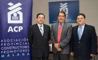Emilio López sustituirá a José Prado como presidente de los constructores malagueños