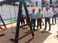 Finalizan en Frigiliana las obras en la plaza de las Tres Culturas y en la rotonda de calle Rosarico Joaquín