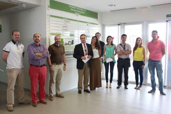 MásJaén.- Diputación volverá en septiembre a ofrecer oficinas a coste cero para emprendedores en Geolit