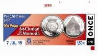 Huesca, en los cupones de la ONCE 'Tu ciudad en una moneda