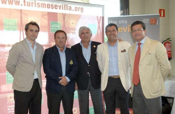 Turismo.- La Diputación exhibe en Madrid la oferta de golf de la provincia con el producto 'Swing Sevilla'