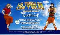 Buscan actores para la obra de teatro 'La tribu de las 7 islas'