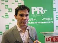 El empresario Fernando Gómez presenta su candidatura presidir el Partido Riojano