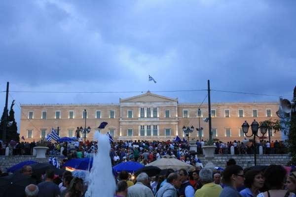 Convocan una manifestación en Santa Cruz de Tenerife en apoyo al pueblo griego