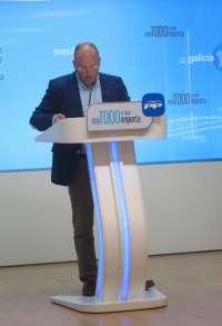 El PPdeG acusa al alcalde de Ferrol de