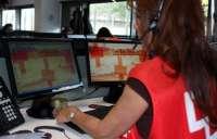 Cruz Roja realiza 100 llamadas semanales de seguimiento de personas mayores o dependientes