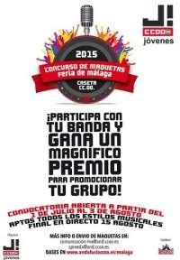 CCOO convoca un concurso de maquetas musicales en la capital para difundir el trabajo de artistas nóveles