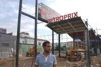 IU pide a Espadas parar las obras de la gasolinera 'low cost' de Bellavista por el