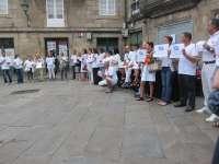 Santiago y A Coruña se suman a la 'Marea Blanca' en contra de la privatización de los servicios sanitarios