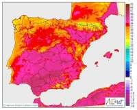 Una nueva ola de calor activa la alerta en 18 provincias este lunes, entre ellas Ávila