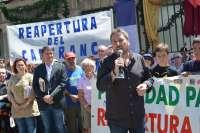 El consejero de Vertebración Territorial reclama inversiones para la reapertura de Canfranc en 2020