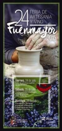 Visitas a bodegas, comentadas y talleres, en la 24 Feria de Artesanía y Vino de Fuenmayor
