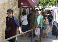 El Castillo de Peñíscola aumenta más de un 42% sus visitas entre enero y julio
