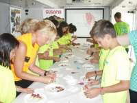 El expotrairler de Gusapir, la promoción de alimentos del Pirineo, recibe más de 2.100 visitas