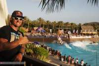 Siam Park (Tenerife) acoge este domingo una exhibición de saltos de windsurf