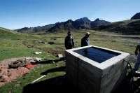 Amycos concluirá a finales de año su proyecto de canalización de agua en de Chaupisuyu (Bolivia)