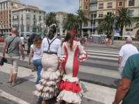 De la Torre llama a malagueños y turistas a colaborar para proyectar en Feria