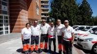 El Equipo Psicosocial de Cruz Roja CyL se suman a las labores de ayuda en La Sierra de Gata en Cáceres