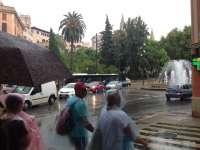 Las tormentas continuarán el martes en Baleares y el tiempo cambiará el miércoles cuando las temperaturas llegarán a 30º