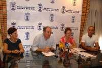 El Ayuntamiento de Palma del Río firma convenios con las asociaciones contra el cáncer y alzheimer