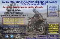 Una ruta motera en la provincia de Cáceres recaudará fondos para ayudar a los afectados por el incendio de Gata