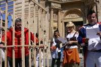 Roa de Duero (Burgos) retroce el sábado a 1825 para escenificar un año más el ahorcamiento de 'El Empecinado'
