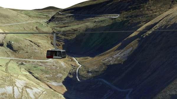 (AMP) El teleférico de Cabárceno funcionará en marzo y el del 'Mirador del Pas' queda paralizado