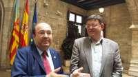 Puig plantea que se perdone la deuda de la Comunitat al Estado para compensar los 12.443 millones de
