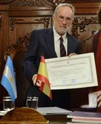 El catedrático de la ULL José Manuel De Pablos, nombrado Honoris Causa por la Universidad de Córdoba (Argentina)