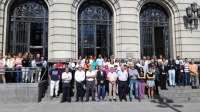 La DPZ se suma al minuto de silencio por las víctimas de la explosión de Pirotecnia Zaragozana