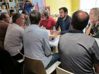 Garzón (IU) avanza que la formación 'Aragón en común